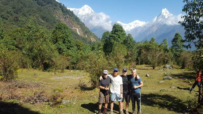 family-annapurna-mountains